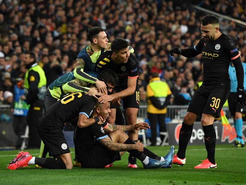 Real Madrid v Manchester City - UEFA Champions League Round of 16: First Leg