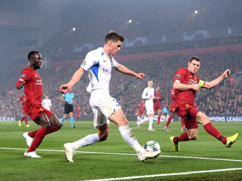 Liverpool FC v KRC Genk: Group E - UEFA Champions League