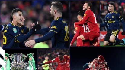Liverpool vence en penales al Arsenal después de un partido emocionante; los 'Reds' avanzan a cuartos de final de la Copa de la Liga.