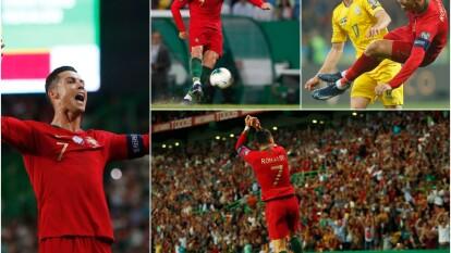 Cristiano continúa haciendo historia en su carrera como futbolista profesional.