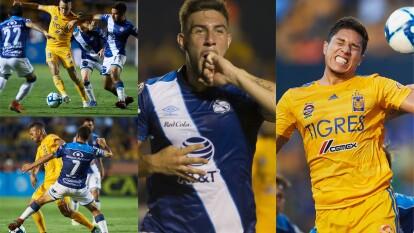 En duelo de pocas llegadas los Tigres pierden ante un contundente Puebla.