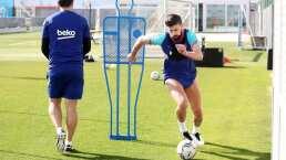 Piqué puede regresar antes para jugar Champions