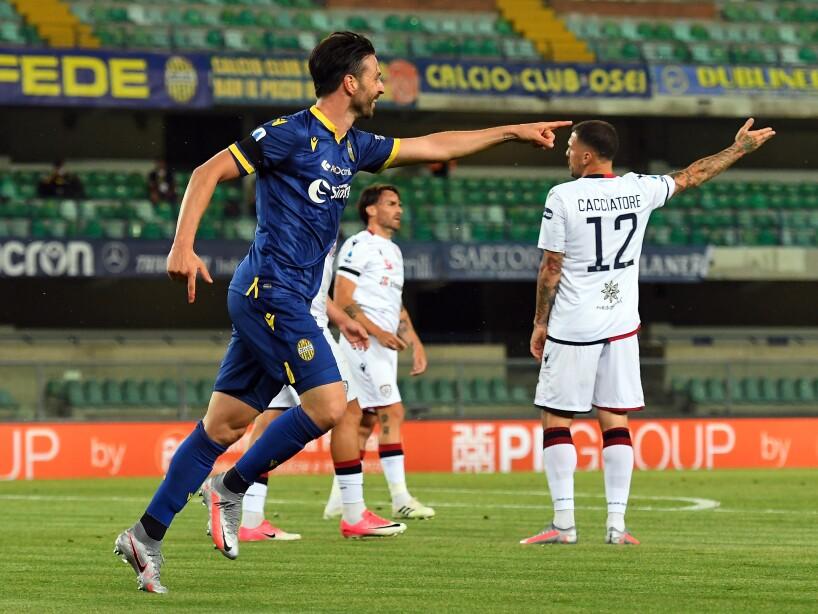 Hellas Verona v Cagliari Calcio - Serie A