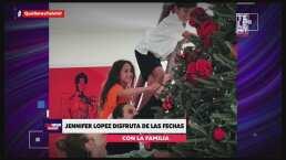 La decoración y los árboles de Navidad de los famosos