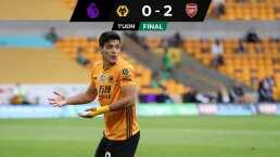 Wolves se alejan de Europa League tras caer ante Arsenal