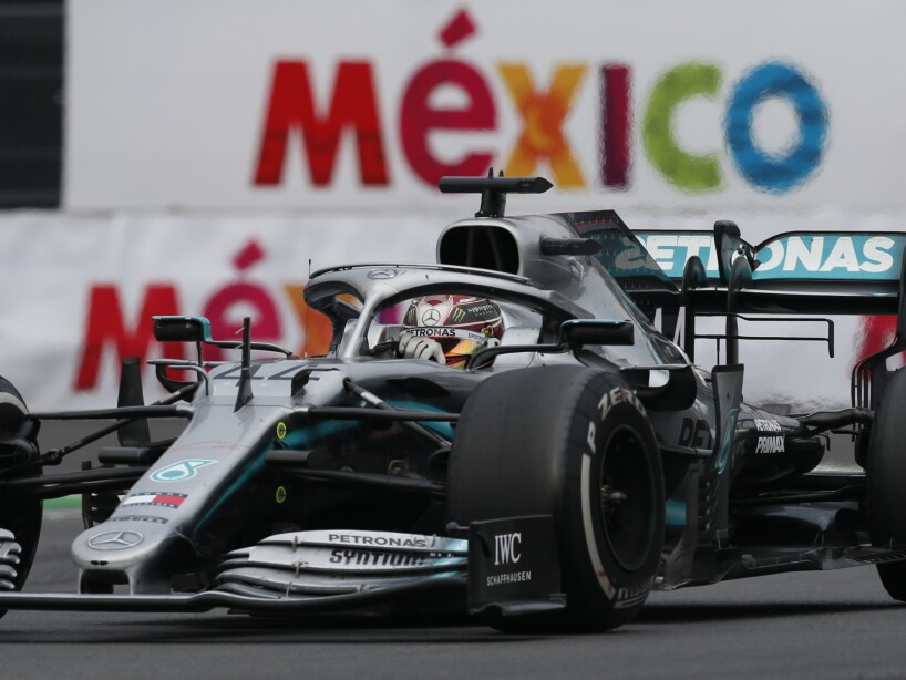 Mexico F1 GP Auto Racing
