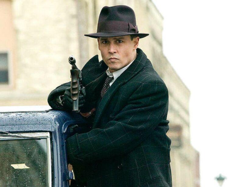 6. Public Enemies (2009): El FBI intenta acabar con los mafiosos norteamericanos John Dillinger (Depp) y Pretty Boy Floyd (Channing Tatum) en 1930.