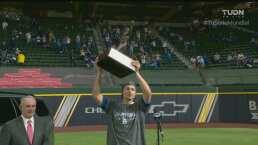 Corey Seager se apodera del MVP de la Serie Mundial