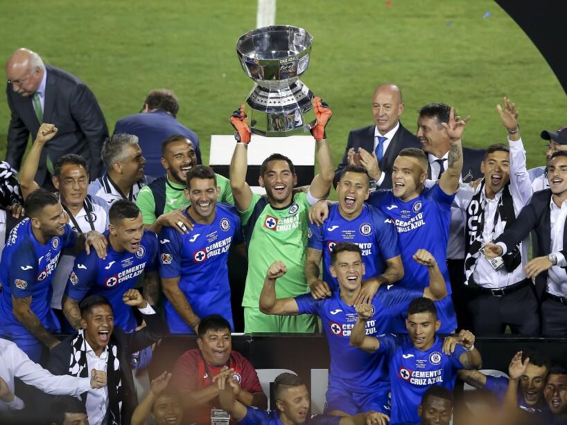 Cruz Azul, campeón de la Leagues Cup.