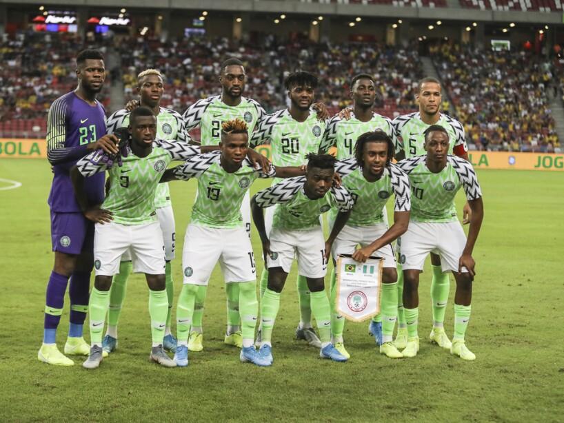 Singapore Brazil Nigeria Soccer