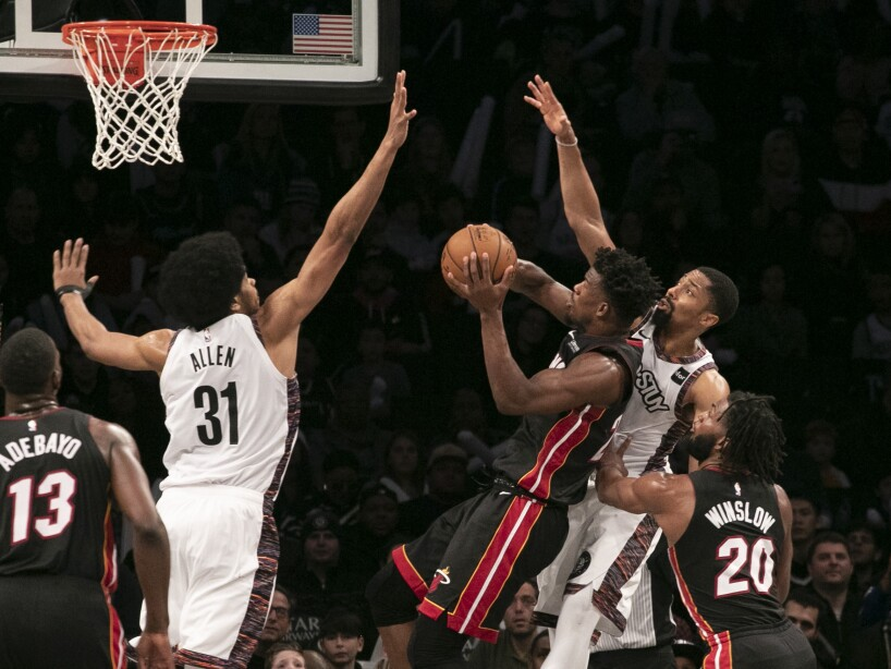 Heat Nets Basketball