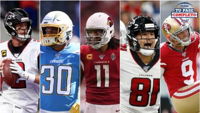 Los jugadores ideales para ser titulares en la Semana 5 de la NFL