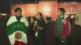 Mexicanos en Arabia mostraron su desilusión ante derrota de Ruiz