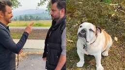 Eugenio Derbez trató de darle indicaciones a su hijo como si fuera un cachorro