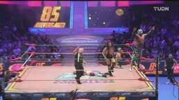 CMLL Retro | Mr. Niebla festejó en grande sus 25 años de carrera