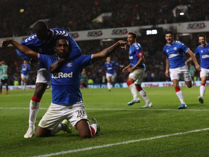 Rangers FC v Legia Warsaw - UEFA Europa League Play Off: Second Leg