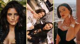 ¿Qué están tramando?: Aislinn Derbez y Ángela Aguilar aparecen juntas y despiertan curiosidad entre sus fans