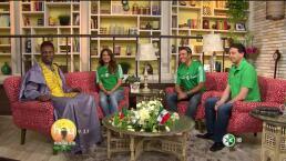 Enrique Burak y Sandarti entrevistan al príncipe de Camerún