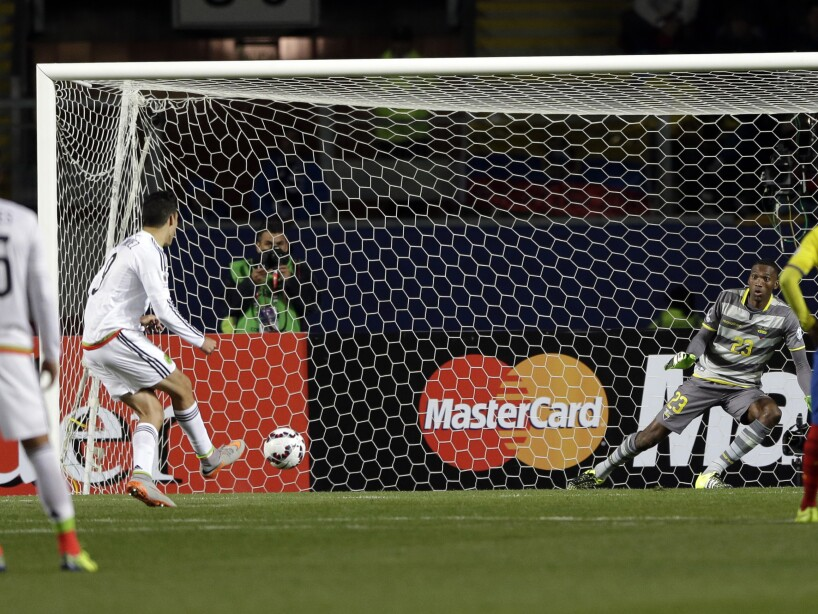 Chile Soccer Copa America Mexico Ecuador