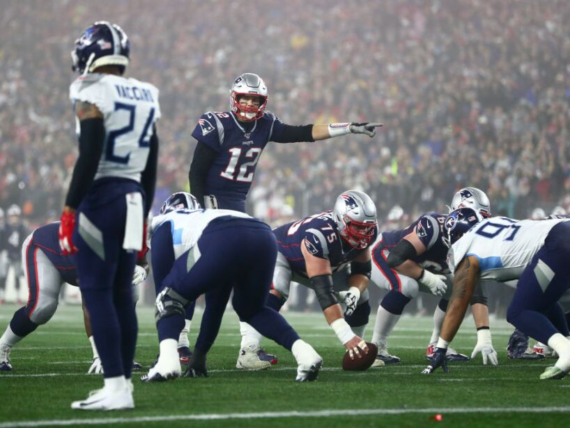 Wild Card Round - Tennessee Titans v New England Patriots