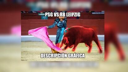 Como es la costumbre, los memes aparecen luego de un partido de Champions League, y esta vez la víctima es el RB Leipzig.