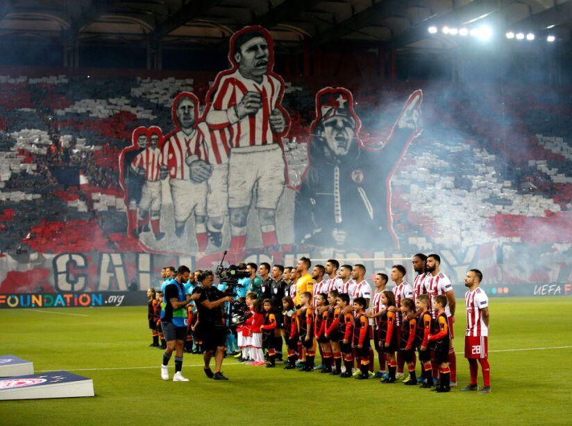 Olympiacos FC v Tottenham Hotspur: Group B - UEFA Champions League