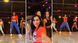 María León expresa su emoción de volver a ensayar sus coreografías; '¡Este trío está de vuelta!'