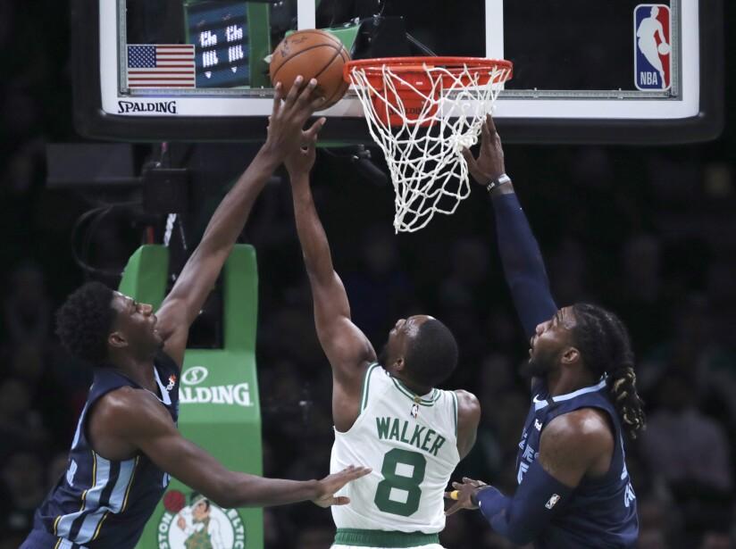 Grizzlies Celtics Basketball