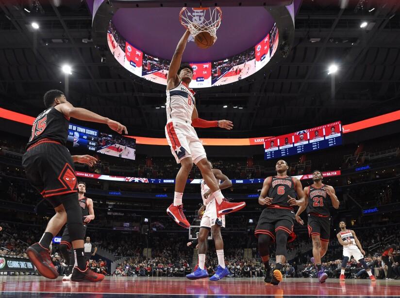 Bulls Wizards Basketball