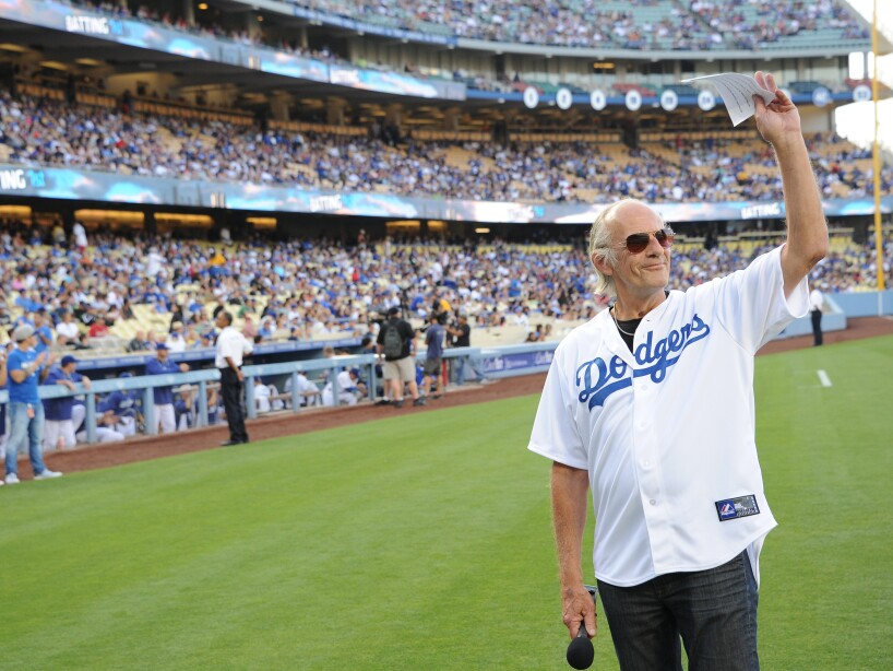 Christopher Lloyd At St. Louis Cardinals vs Los Angeles Dodgers