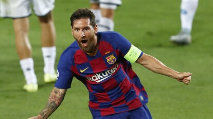 Barcelona eliminó al Napoli y avanza a Cuartos en la Champions   El conjunto italiano cayó por un global de 4-2; Hirving 'Chucky' Lozano entró a los 70' del juego.