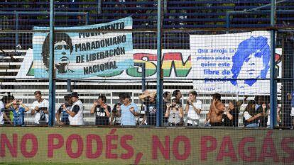Gimnasia La Plata y Patronato empataron a un gol. Tercer empate del equipo de Diego Armando Maradona en este año.