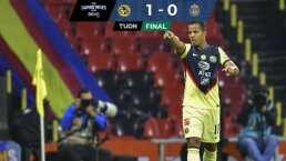 América 1-0 Chivas   Giovani pinta el Clásico con un golazo