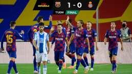 Barcelona gana el derbi catalán y desciende al Espanyol