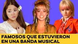 Sherlyn, Angelique Boyer, Andrea Legarreta y otros famosos que estuvieron en una banda musical