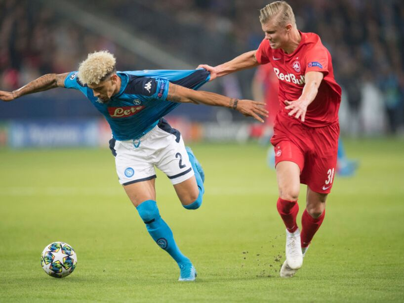 FC Salzburg v SSC Napoli: Group E - UEFA Champions League
