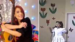El video de María León que enterneció las redes sociales: 'Cuando era una discobolita'
