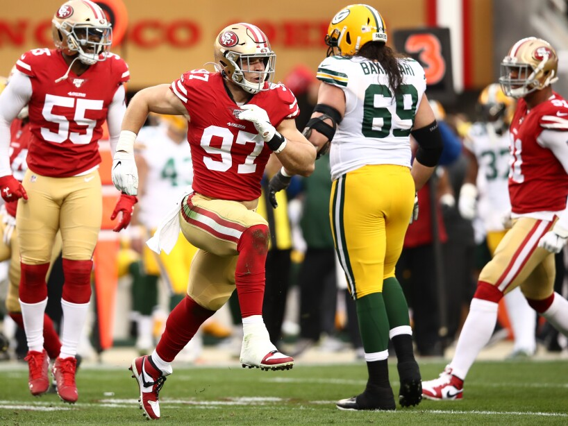 NFC Championship - Green Bay Packers v San Francisco 49ers