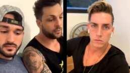Nicola, Asaf y Agustín reaccionan a la suspensión por irse a la playa en Guerreros 2021