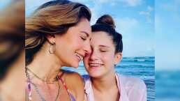 Geraldine Bazán presume paseo en yate junto a su hija mayor