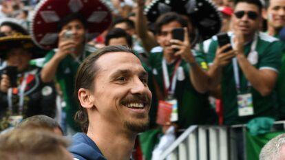 México dbutó contra Alemania y Zlatan no se quiso perder el encuentro, vaya sorpresa que se llevó.