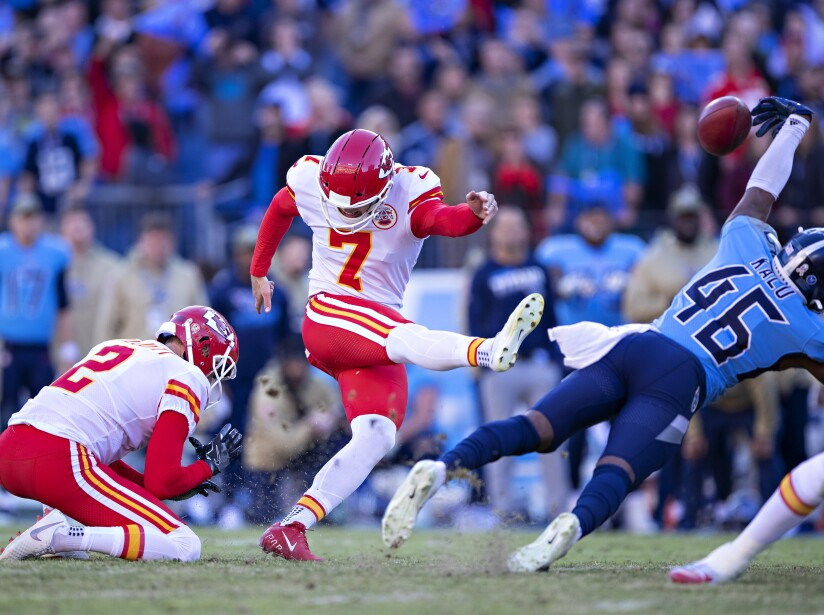 Kansas City Chiefs v Tennessee Titans