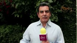 Eduardo Cáceres sufre por ser un padre estricto