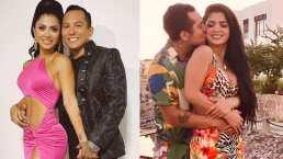 Edwin Luna y Kimberly Flores aparecen cantando juntos acapela
