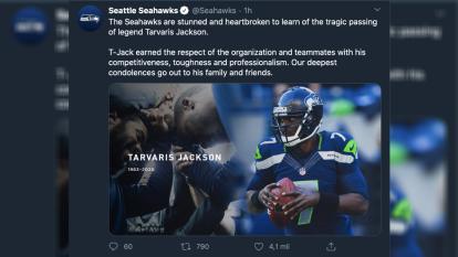 El mundo del futbol americano comprendido por la NFL, equipos de la NFL, coaches y compañeros, dan el último adiós al exquarterback.
