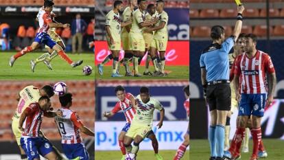 Con gol de Roger Martínez al minuto 51 el América consgue los tres puntos.