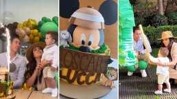 ¡Festejo doble! Así celebró Mariana Echeverría el cumpleaños de su hijo y esposo