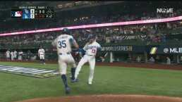 ¡Le da con furia! Cody Bellinger pone en ventaja a Dodgers