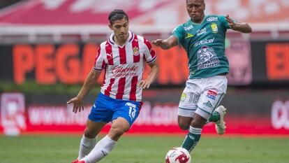 Guadalajara y León empatan en la J1 del Guard1anes 2020 de la Liga BBVA MX | El gol no se hizo presente en el estadio de Chivas; Ángel Mena no llevó la 'puntería' al estadio.