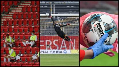 Las mejores imágenes de los partidos que conformaron la Fecha 28 en el futbol de Alemania.